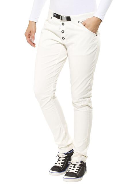 Gentic Hazardcat Naiset Pitkät housut , valkoinen